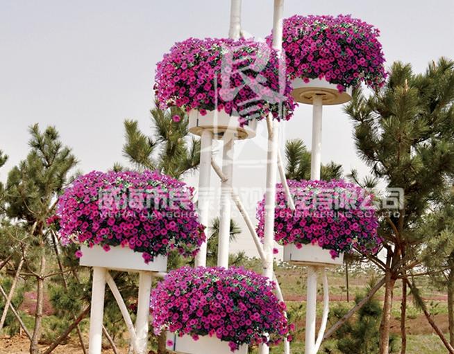 铁艺花架—和谐之韵