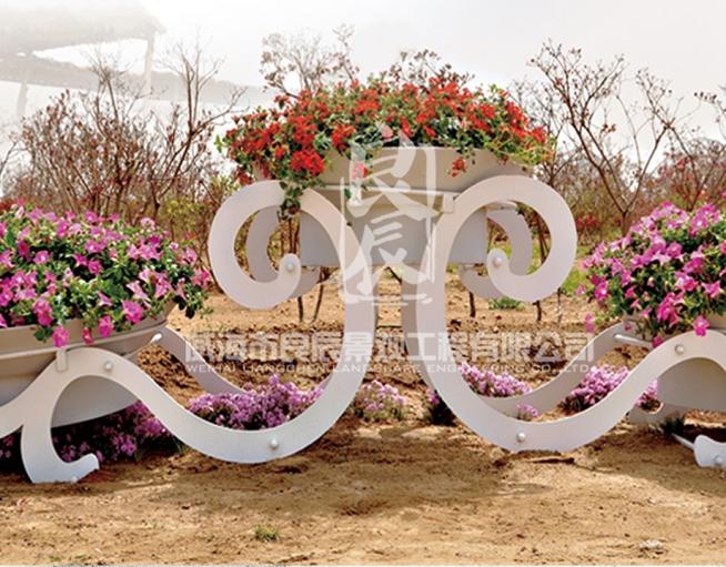 铁艺花架—古典