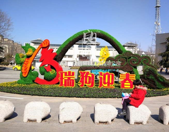 江苏新沂-仿真植物造型